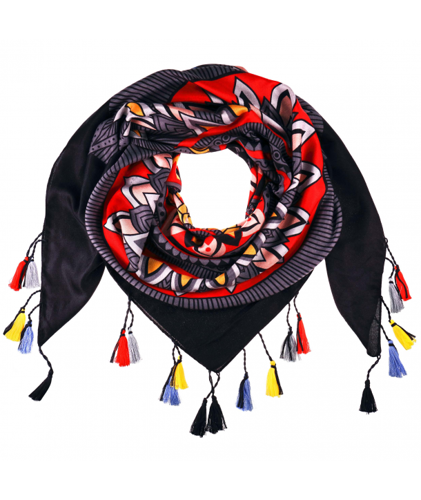 FOULARD - SOL EN PARIS BLACK