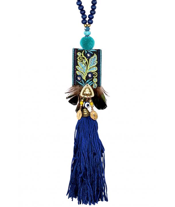 COLLIER - YUCATAN BLUE VERDE