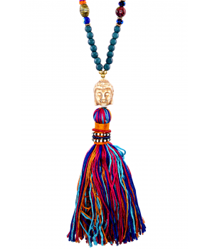 COLLIER - BOUDDHA COLOR