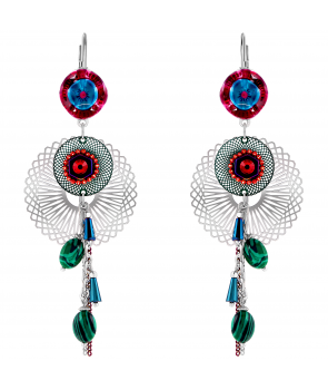 BOUCLES D'OREILLES - LAPAZULA WINTER COLOR