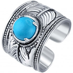 BAGUE - KENNEWICK SILVER BLUE