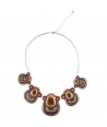 COLLIER - PHARAMIOS MARRON