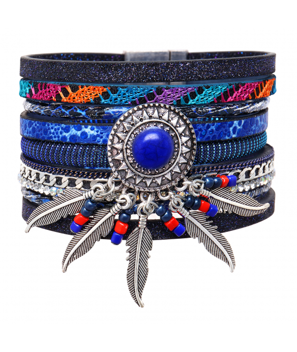 BRACELET - CORONAL BLUE