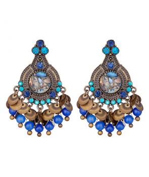 BOUCLES D'OREILLES - OSIRIS BLUE