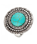 BAGUE - BALTESA TURQUOISE SILVER