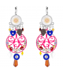 BOUCLES D'OREILLES - BARCELONA COLOR