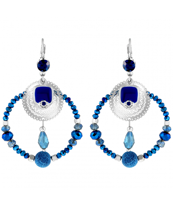 BOUCLES D'OREILLES - TOTELIA NIGHT BLUE
