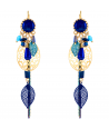 BOUCLES D'OREILLES - CADICIAN DORADA BLUE