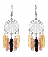 BOUCLES D'OREILLES -  YELLOWSTONE ALL GOLD