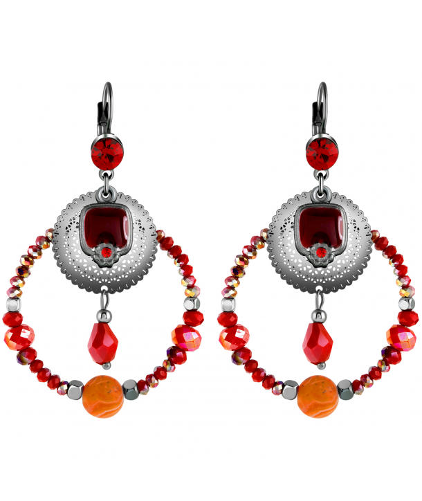 BOUCLES D'OREILLES - TOTELIA WINTER CEREZA