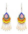 BOUCLES D'OREILLES - PONDICHERI COLOR