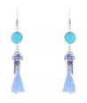 BOUCLES D'OREILLES - PEDRITA BLUE JEAN