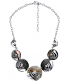 COLLIER - KANYONA SHELL SILVER