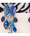 BOUCLES D'OREILLES - AYUTIS NIGHT BLUE SILVER