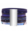 BRACELET - TEXAS NIGHT BLUE SILVER