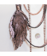 COLLIER - AUTUMN FALL CRYSTAL COPPER